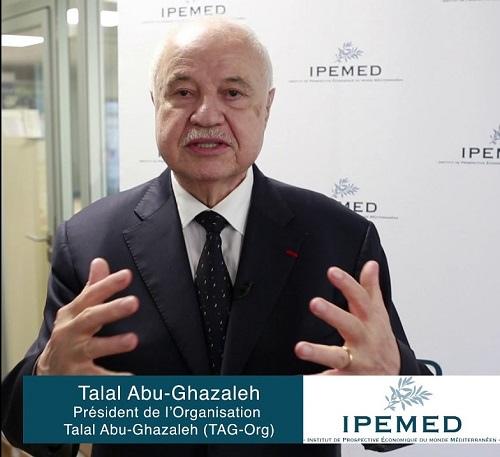 Abu-Ghazaleh Elected to IPEMED and Attends Paris Meeting