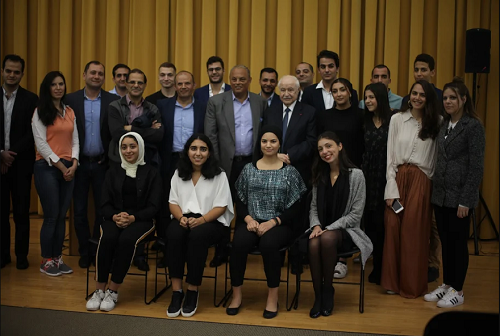 Abu-Ghazaleh Delivers Keynote Speech at Columbia University in NY