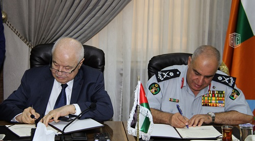 General Directorate of Civil Defense Signs a Cooperation Agreement with (TGO-Organization) Talal Abu-Ghazaleh Organization
