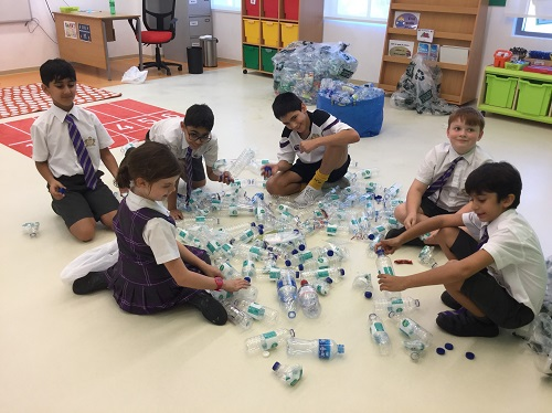 Foremarke Pupils Lead Drive to Reduce Plastic Pollution