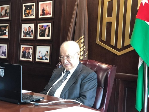 The International Business Forum (Tukey) Hosts Abu-Ghazaleh at a Virtual Dialogue Session