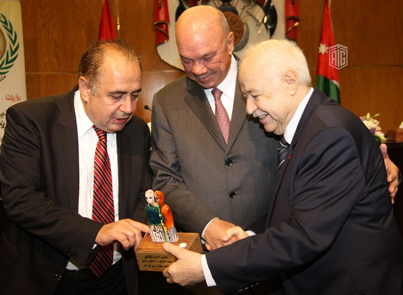 Abu-Ghazaleh Chairs the National Cultural Conference's Session