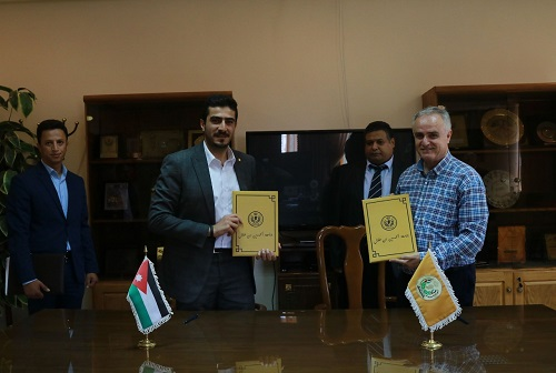 'Abu-Ghazaleh Knowledge Society' and Al-Hussein Bin Talal University Renew Cooperation Agreement