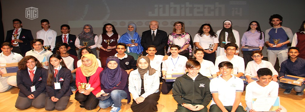 Abu-Ghazaleh Patronizes Jubilee School's 14th Arab Youth Competition for Electronic Design