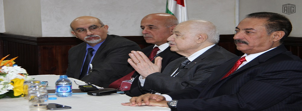 Abu-Ghazaleh Lectures at the TRC, Discusses a Comprehensive Cooperation Agreement with its Chairman