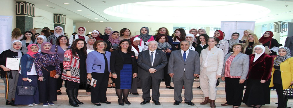 Abu-Ghazaleh Speaks on Mentoring Day at University of Jordan