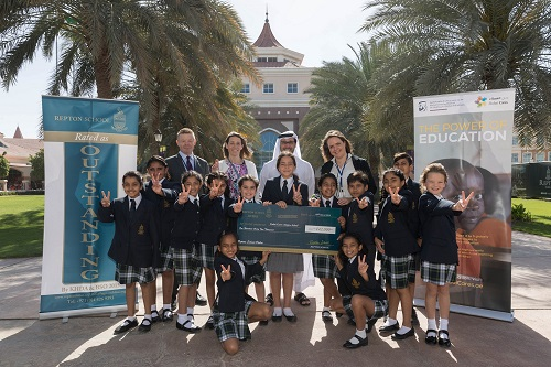 Dubai School in Partnership with Dubai Cares Raises AED 142,000 to Build a School in Senegal