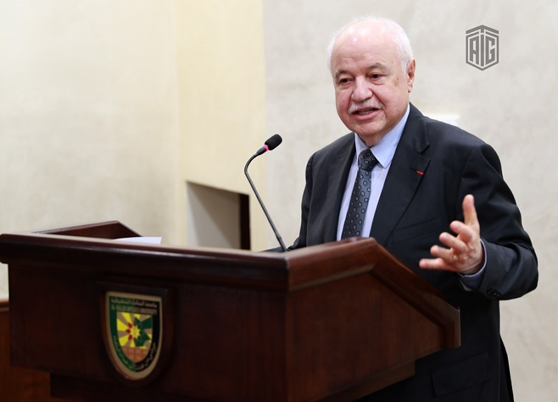 Abu-Ghazaleh Meets Students of Al- Balqa' Applied University